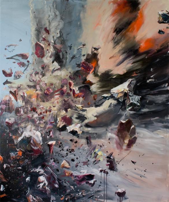 series 'Moments de Détente dans la Vie d'un Peintre' 2010-12